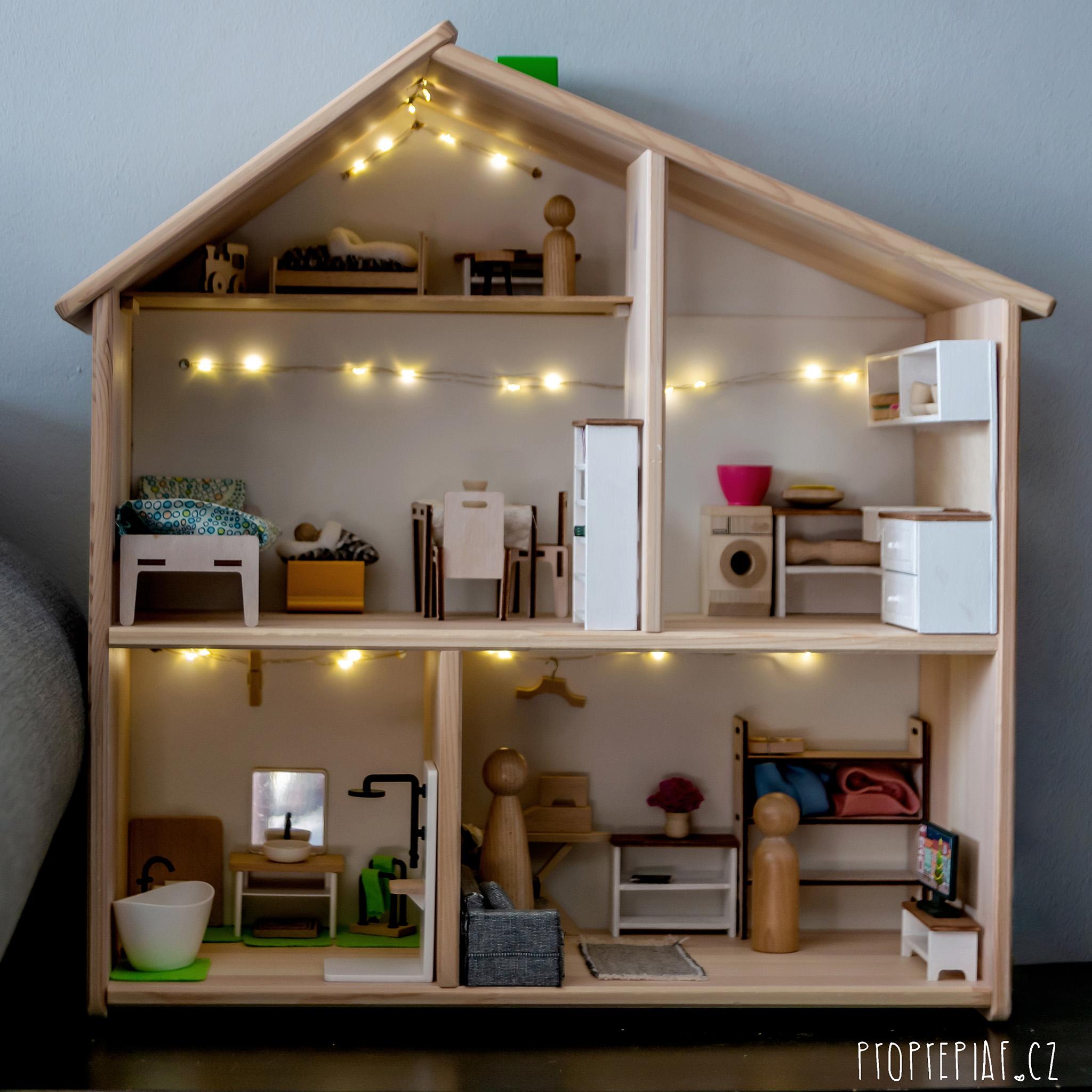 Náš dřevěný domeček