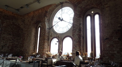 Restaurace ve věži