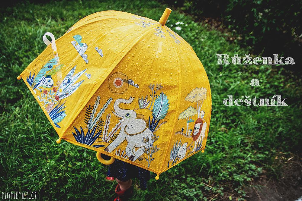 Růženka a deštník